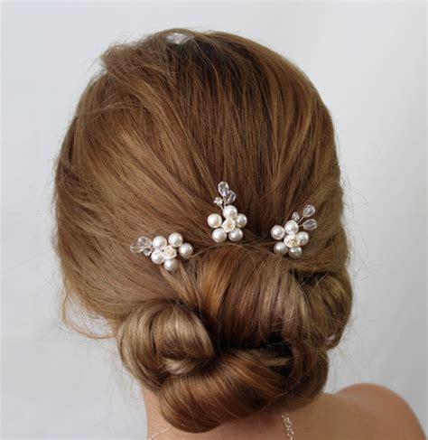 Flower Hair Pin bridal flower hair pin hair pins wedding hair