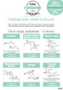 programme abdominaux moi abdos exercices
