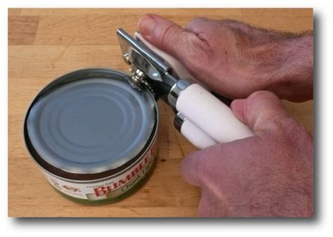 how to open a can with can opener gotta eat can t cook