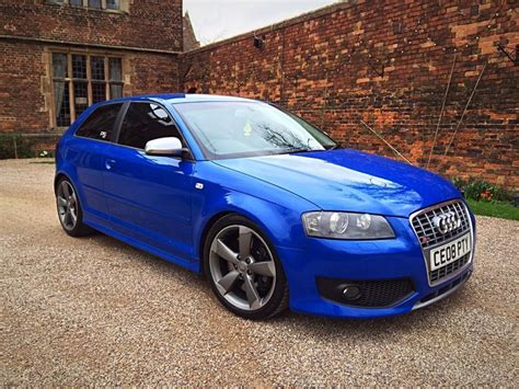 Audi S3 2008 by 2008 Audi S3 2 0 Tfsi Sprint Blue 400bhp Stage 2 Plus In