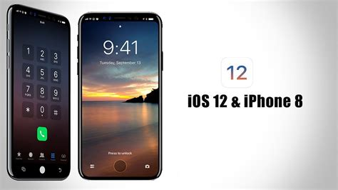 New Iphone Ios 12 Displayed On Iphone 8 With New Features ᴴᴰ