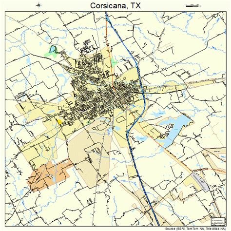 where is corsicana texas on the map corsicana tx united states pictures citiestips