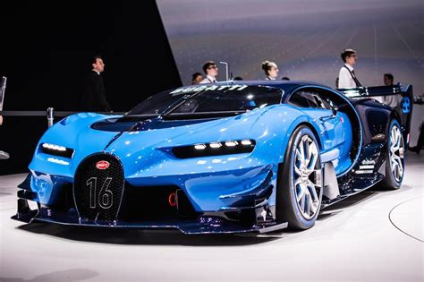 bugatti teases veyron successor with vision gt concept