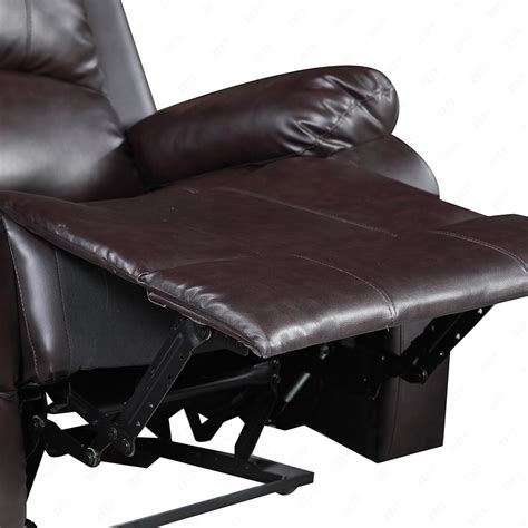 Elegant Leather Sofa 1 Seater Recliner Chair Lazy Boy Sofa