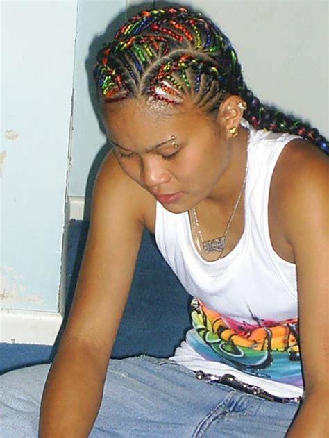 cornrow hair to buy different colour styles by miimii braids vissa studios