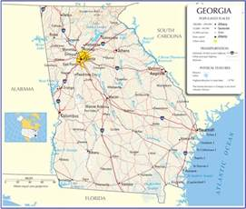 Ga State Map by Map Of Georgia Related Keywords Amp Suggestions Map Of
