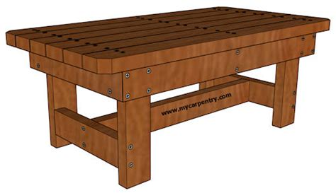 Cedar Coffee Table Plans Coffee Table Plans