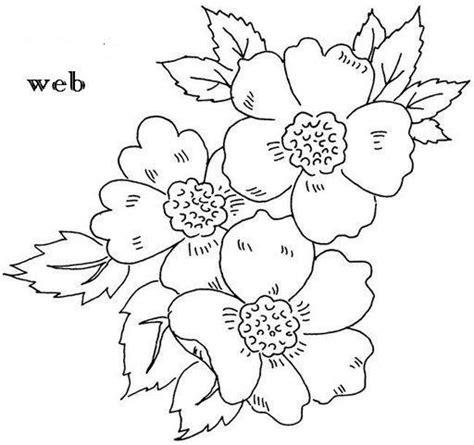 imagenes de flores grandes para pintar en tela dibujos de flores para pintar en telas imagui