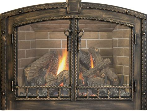 Gas Fireplace Doors by Fireplace Doors Edwards And Sons Hearth And Home