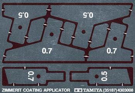 Coating Applicator Applicator Coating zimmerit coating applicator photo etch plastic model