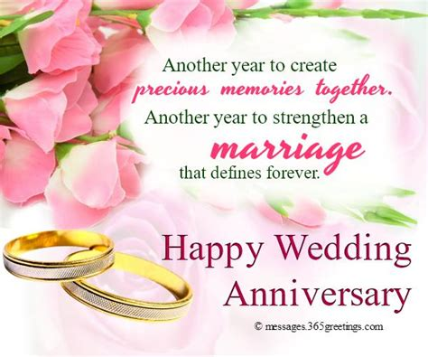 Wedding Anniversary Message To Us by Wedding Anniversary Wishes And Messages 365greetings