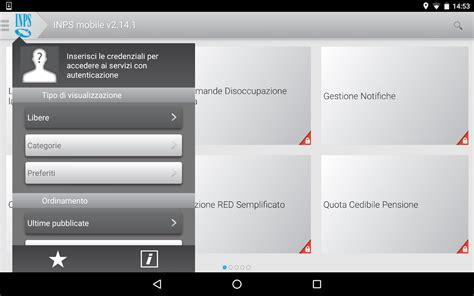 inps cassetta postale inps mobile per tablet android apps on play