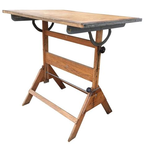 Drafting Table Furniture Mid Century Anco Bilt Drafting Table Glendale New York For Sale At 1stdibs