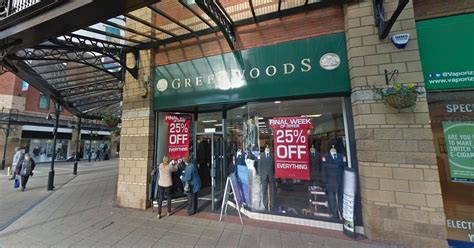 historic menswear retailer greenwoods with six north east
