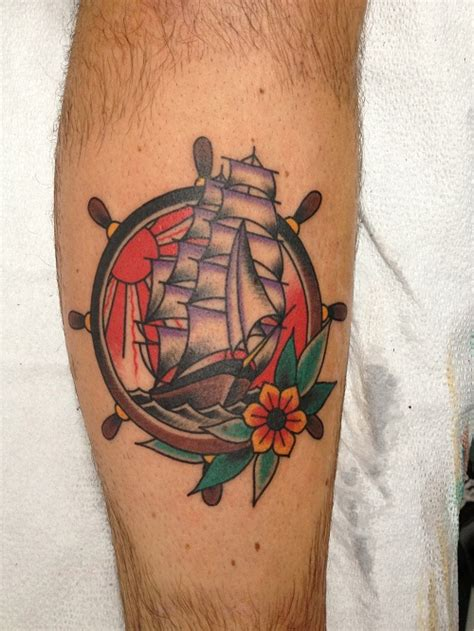boat wheel tattoo ship wheel tattoos designs ideas and meaning tattoos