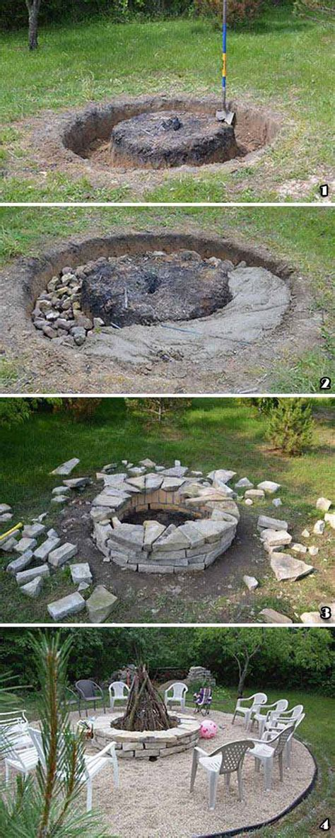 build firepit top 31 diy ideas to build a firepit on budget amazing