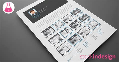 5 Cv Resume Indesign Templates by 5 Cv Resume Indesign Templates Stockindesign