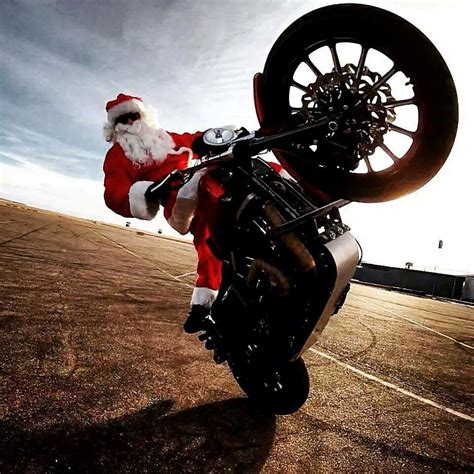 merry motorcycle christmas motofotostudio