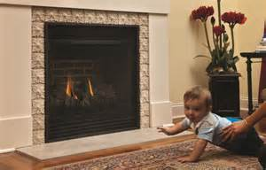 gas fireplace enclosures protect you your family while enjoying your gas