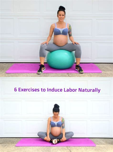 6 exercises to induce labor naturally via diaryoffitmom