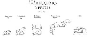 warrior cats clan camp colouring pages