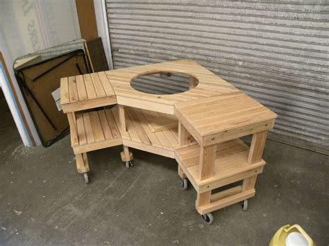 big green egg table plans ideas big green egg table plans woodworking table plans