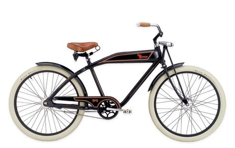 Kaos Fangkeh Since 1903 Biker Motorcycle Pin Up felt bicycle company produced a retro cruiser bike that simulated a 1903 harley davidson