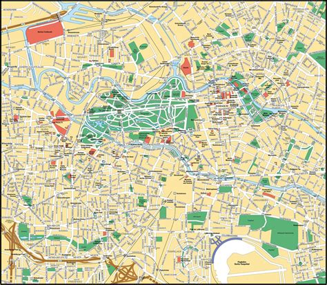 berlin germany map berlin map size