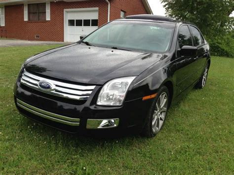 Ford Fusion Se Sport by Purchase Used 2009 Ford Fusion Se Sport Loaded 3 0l