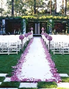 garden ceremony decorations 50 best garden wedding aisle decorations pink lover