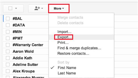 how to transfer contacts from android to gmail gmail export isource