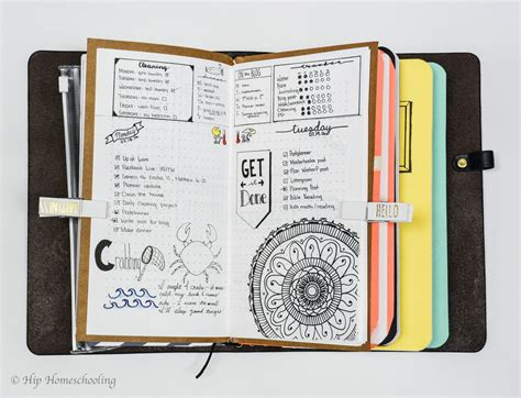 design for journal notebook bullet journaling in a traveler s notebook with pictures