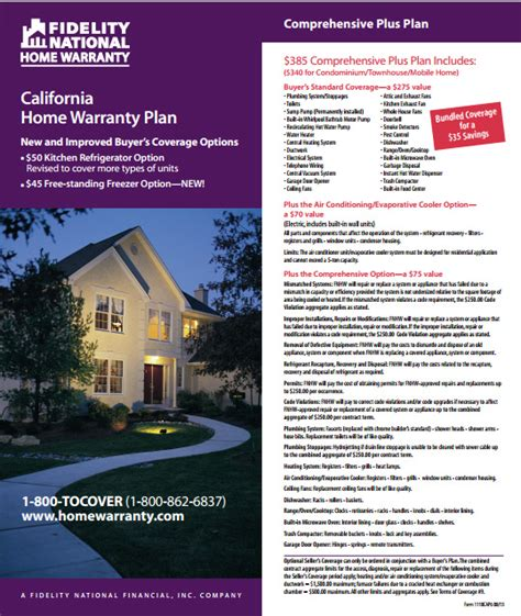 fidelity home warranty plan prestige manufactured homes about