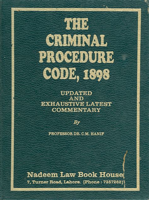 all sections criminal procedure code university of the punjab
