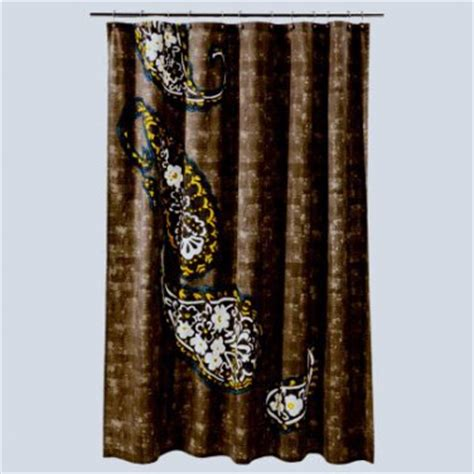 target paisley shower curtain threshold paisley river birch taupe teal yellow fabric