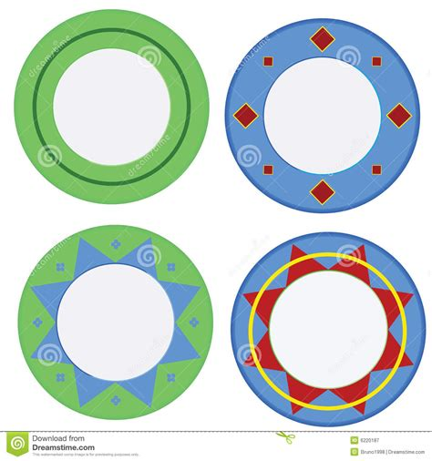 colorful plates colorful plates royalty free stock photography image
