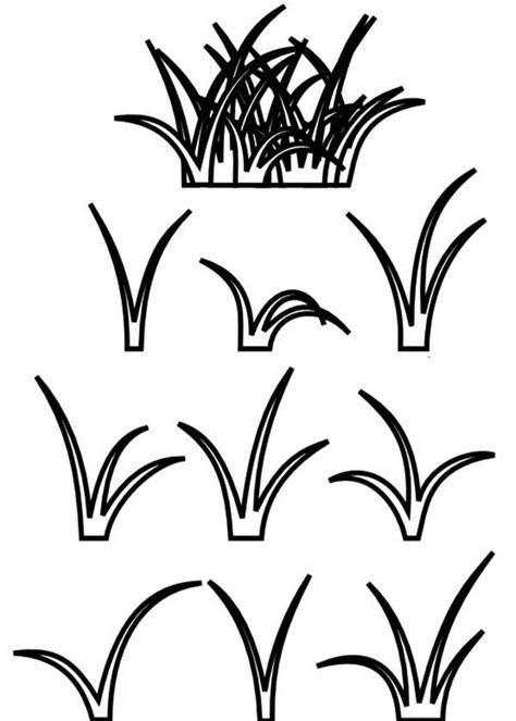 free coloring pages of grass coloring pages of grass clipart best