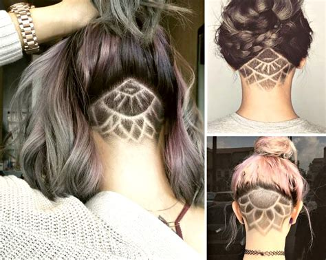 pattern undercut undercut patterns triangle