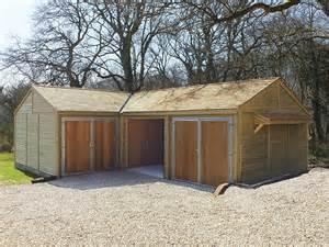 timber garages garage workshops jon william stables uk