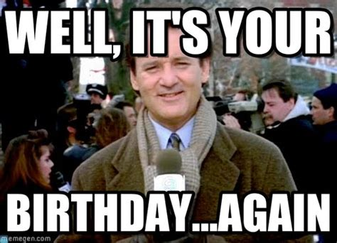groundhog day birthday bill murray groundhog day meme www pixshark images