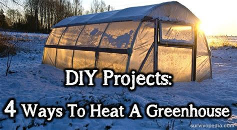 design criteria of greenhouse for cooling and heating purposes diy projects 4 ways to heat a greenhouse survivopedia