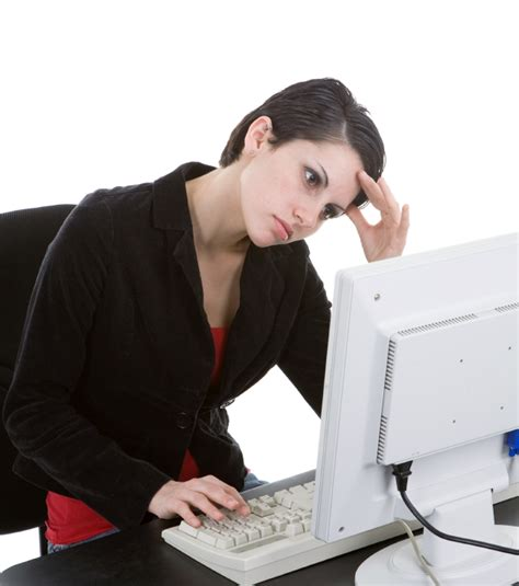 slouching at a computer causes headaches chandler az