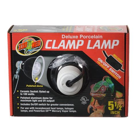 Zoo Med Zoo Med Deluxe Porcelain Cl L Reptile Ls Zoo Med Lighting