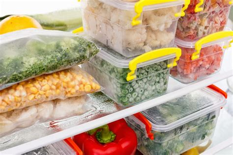 Freezer Frozen Food your ultimate guide to freezing food