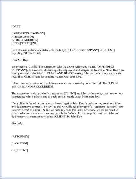 Cease And Desist Templates 6 Letters And Forms For Word Cease And Desist Letter Template