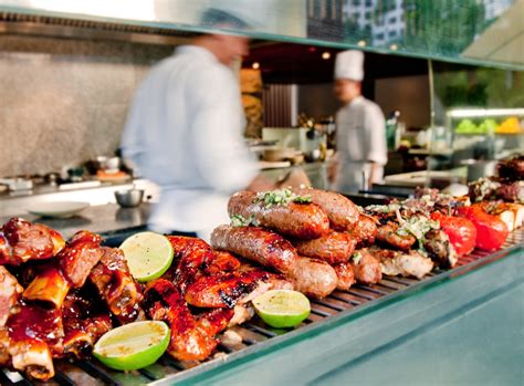 Backyard Pool by Photo Gallery Of Oasis Restaurant At Grand Hyatt Singapore