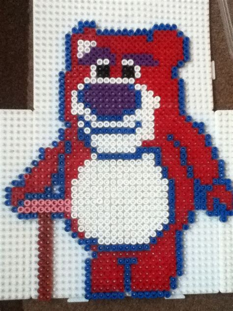 Lotso Story Hama Perler Disney 1000 images about hama on disney
