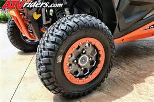 Tires And Wheels Polaris Gbc Kanati Mongrel Tire Upgrade On Polaris Rzr Xp 1000