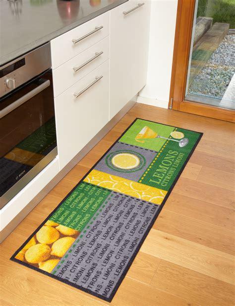 tapis pour cuisine tapis de cuisine 171 lemons 187 moderne et de qualit 233