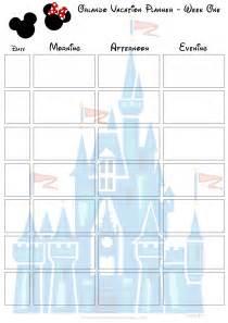 orlando walt disney vacation planner free printable 187 purple pumpkin blog